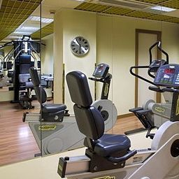Fitness room UNA Hotel Scandinavia
