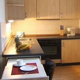 Cocina Amary City Residence Apartments