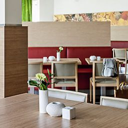 Breakfast room within restaurant ibis Berlin Dreilinden