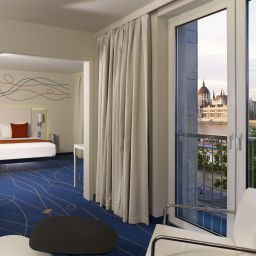Junior-Suite art'otel budapest by park Plaza