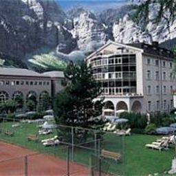 Exterior view Lindner Hotels & Alpentherme Leukerbad