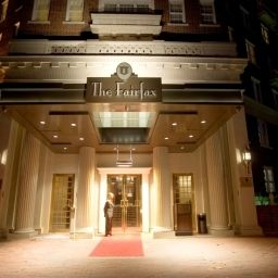 Exterior view D.C.  Washington The Fairfax at Embassy Row