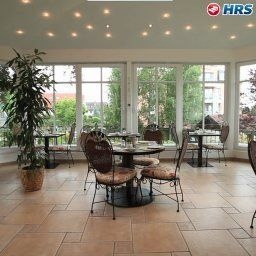 Breakfast room within restaurant Schöngarten Garni