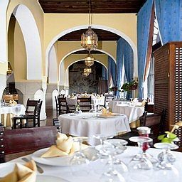 Breakfast room within restaurant El Minzah