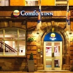 Exterior view Comfort Inn City Centre Birmingham