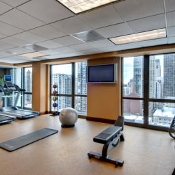 Wellness/Fitness Homewood Suites by Hilton Chicago Downtown
