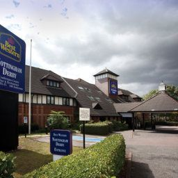 Vista exterior BEST WESTERN Nottingham Derby