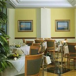 Breakfast room within restaurant Ramada Naples Hotel