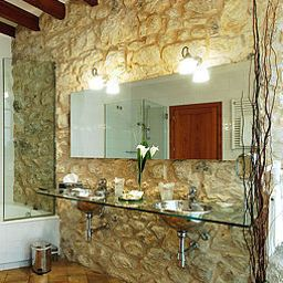 Bathroom Cas Comte Petit Hotel & Spa