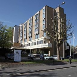 Фасад DoubleTree by Hilton Bristol City Centre