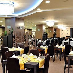 Breakfast room within restaurant Grand Hotel Sava Lux Superior