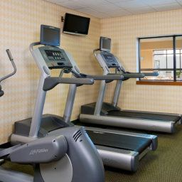 Wellness/fitness area Courtyard Chicago Arlington Heights/North