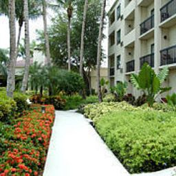 Vista esterna Courtyard Miami Lakes