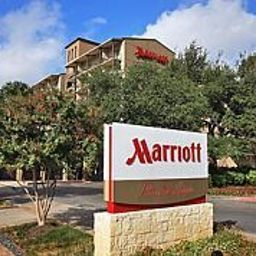 Exterior view Marriott Plaza San Antonio