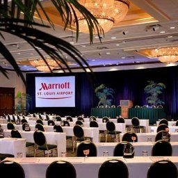 Salle de banquets St. Louis Airport Marriott Fotos