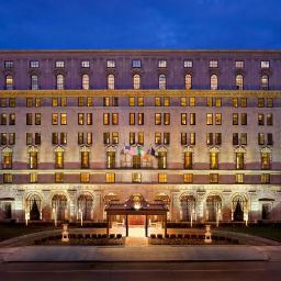 Exterior view D.C. The St. Regis Washington