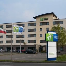 Фасад Holiday Inn Express COLOGNE - MUELHEIM