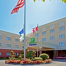 Vue extérieure Holiday Inn Express ALBANY WESTERN AVE UNIVERSITY