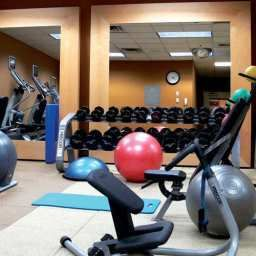 Wellness/fitness area Hilton Newark Penn Station