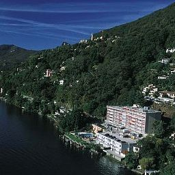 Vista esterna Swiss Diamond Hotel Lugano