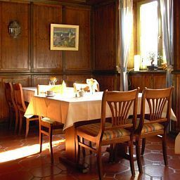 Breakfast room within restaurant Ochsen Historik Hotel