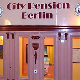 Vista exterior City Pension
