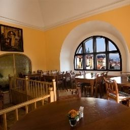 Breakfast room Questenberk Prague Castle