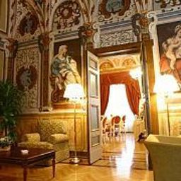 Vista all'interno Cavaliere Palace Hotel