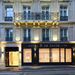 Exterior view Hotel R de Paris