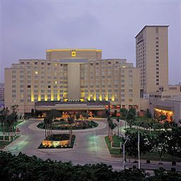 Exterior view Dasin Convention Center (Formerly Shangri-La Hotel Zhongshan)