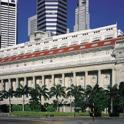 The Fullerton Hotel Singapore Singapur