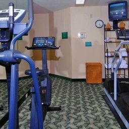Wellness/fitness area TownePlace Suites Greenville Haywood Mall