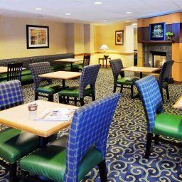 Restaurant SpringHill Suites Fort Worth University Fotos