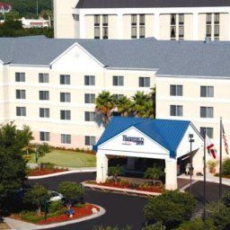 Vista exterior Fairfield Inn Orlando Airport Fotos