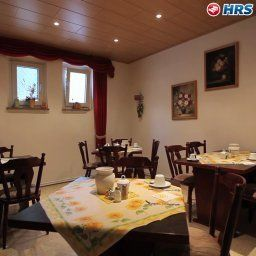 Breakfast room within restaurant Deutscher Hof