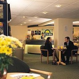 Recepción Days Inn Bradford South Welcome Break Service Area