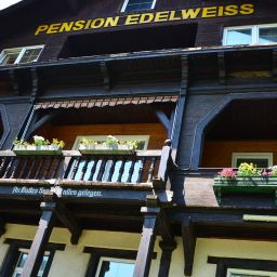 Exterior view Gasthof-Pension-Cafe Edelweiss