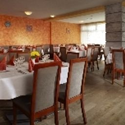 Breakfast room within restaurant Spa & Kur Hotel Praha