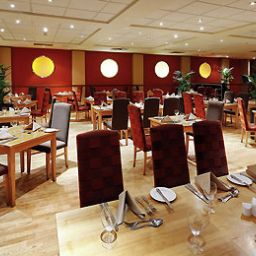 Breakfast room within restaurant Mercure Chester North Woodhey House Hotel