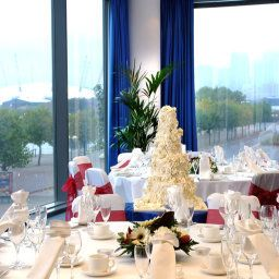 Sala de banquetes Crowne Plaza LONDON DOCKLANDS
