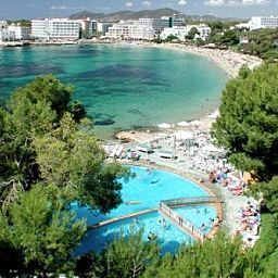 Widok z hotelu Intertur Miami Ibiza
