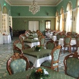 Breakfast room within restaurant Eger