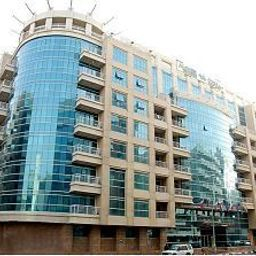 Vista exterior Grand Midwest Hotel Apartments Bur Dubai Fotos