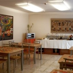 Breakfast room within restaurant Plaza Santa Lucia