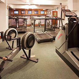 Fitness room Best Western Old Mill and Leisure Club