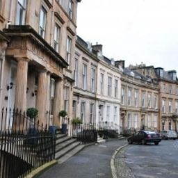 Außenansicht Dreamhouse Apartments Glasgow West End