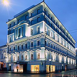 Фасад Golden Apple Boutique Hotel