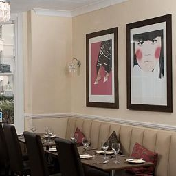 Breakfast room within restaurant New Steine