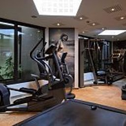 Fitness room L'Agapa Hotel & Spa Chateaux et Hotels Collection Fotos