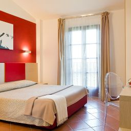 Room with balcony Casolare Le Terre Rosse